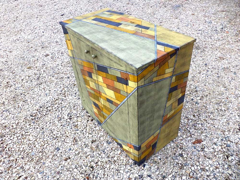 Mobile in legno di recupero