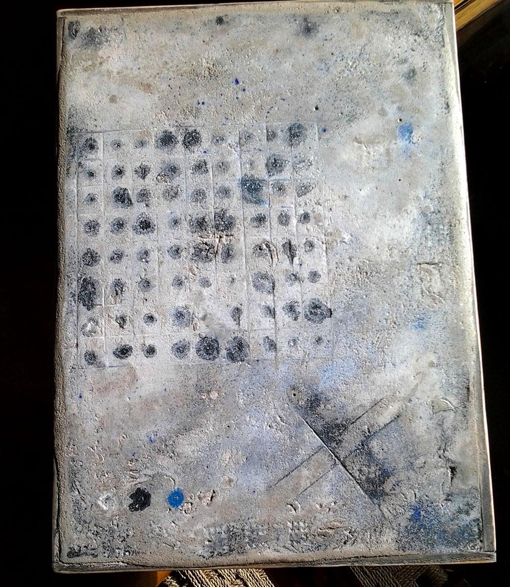 Pannello decorativo in cemento