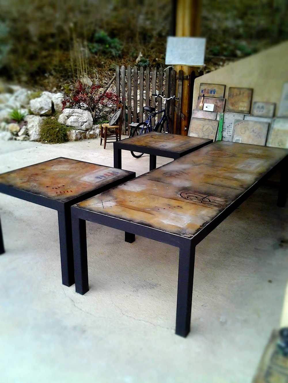 Tavolo in cemento