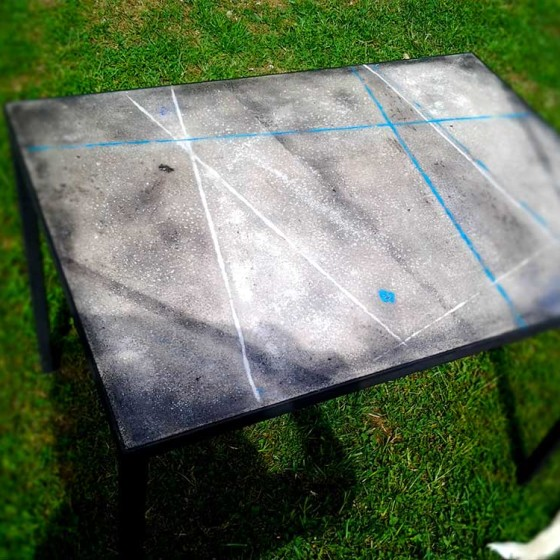 Tavolo Cemento 70×100 uno