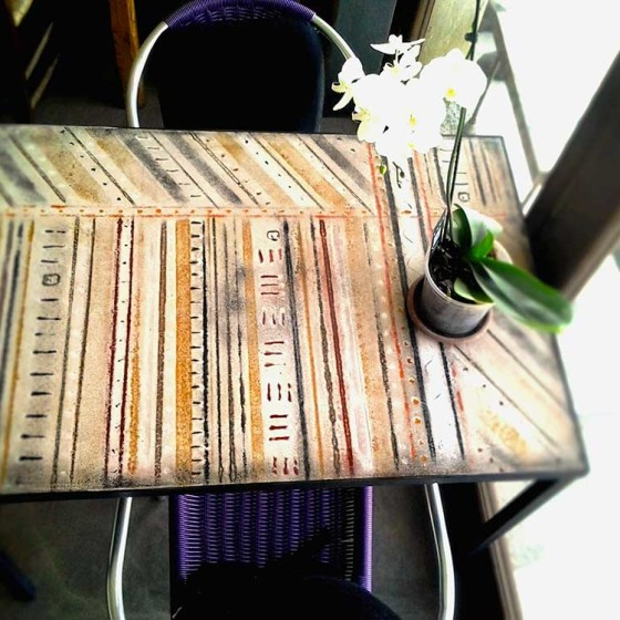 Tavolo Cemento 70×100 due