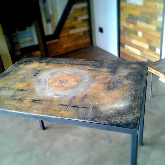 Tavolo Cemento 70×100 tre