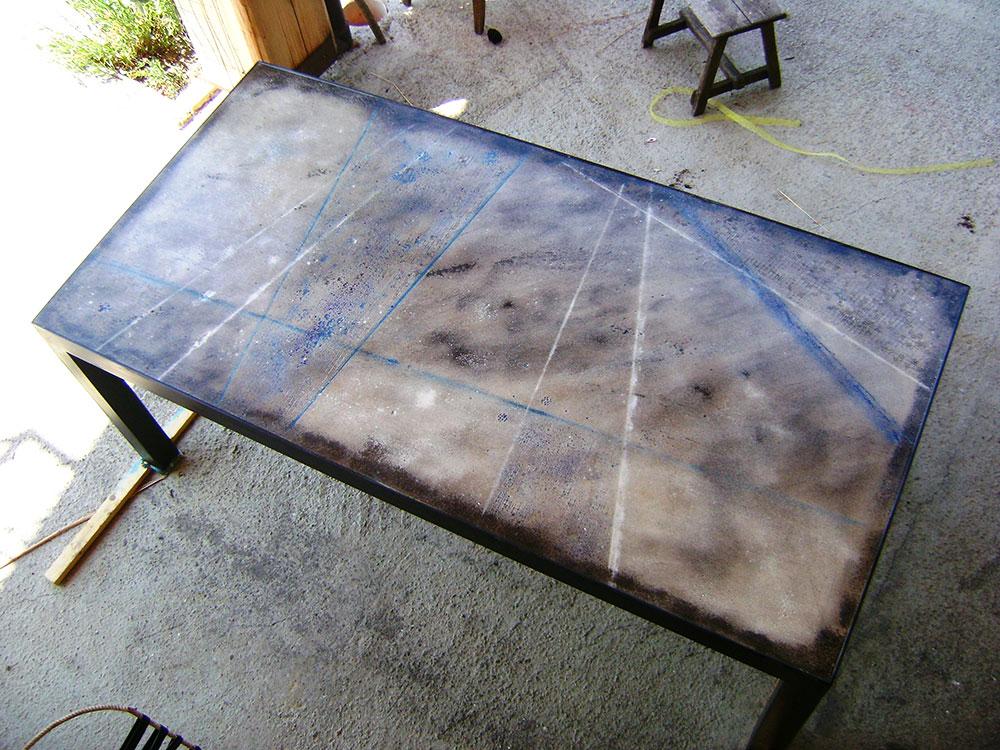 Tavoli Da Esterno In Cemento.Tavolo Cemento 01 Testadilegno