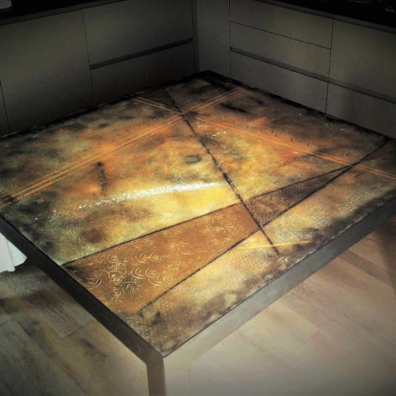 Tavolo Cemento 140X140cm